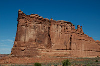 Tower of Babel rock formation at Arches Park UT 9-3-05