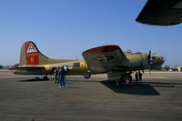 B17 at Palomar airport in Carlsbad-01 4-24-08